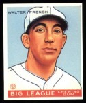 1933 Goudey Reprint #177  Walter French  Front Thumbnail