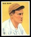 1933 Goudey Reprint #206  Gus Suhr  Front Thumbnail