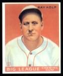 1933 Goudey Reprint #150  Ray Kolp  Front Thumbnail