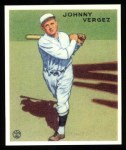 1933 Goudey Reprint #233  Johnny Vergez  Front Thumbnail