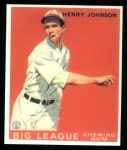 1933 Goudey Reprint #14  Henry Johnson  Front Thumbnail