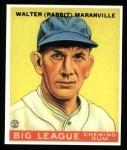 1933 Goudey Reprint #117  Rabbit Maranville  Front Thumbnail
