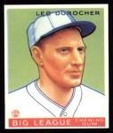 1933 Goudey Reprints #147  Leo Durocher  Front Thumbnail