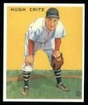 1933 Goudey Reprint #238  Hugh Critz  Front Thumbnail