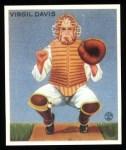 1933 Goudey Reprint #210  Virgil Davis  Front Thumbnail