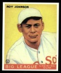 1933 Goudey Reprint #8  Roy Johnson  Front Thumbnail