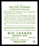 1933 Goudey Reprints #146  Walter Stewart  Back Thumbnail