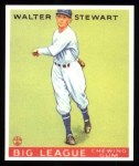 1933 Goudey Reprints #146  Walter Stewart  Front Thumbnail