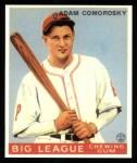 1933 Goudey Reprint #77  Adam Comorosky  Front Thumbnail
