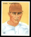 1933 Goudey Reprints #124  Earl Whitehill  Front Thumbnail
