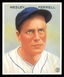 1933 Goudey Reprint #218  Wes Ferrell  Front Thumbnail