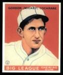 1933 Goudey Reprint #76  Mickey Cochrane  Front Thumbnail