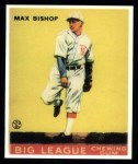 1933 Goudey Reprint #61  Max Bishop  Front Thumbnail