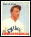 1933 Goudey Reprint #51  Charlie Grimm  Front Thumbnail