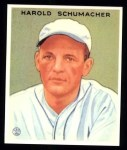 1933 Goudey Reprints #240  Hal Schumacher  Front Thumbnail