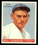 1933 Goudey Reprint #91  Tom Zachary  Front Thumbnail