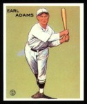 1933 Goudey Reprint #213  Earl Adams  Front Thumbnail