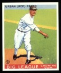 1933 Goudey Reprints #79  Red Faber  Front Thumbnail