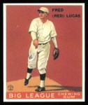 1933 Goudey Reprint #137  Red Lucas  Front Thumbnail