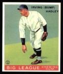 1933 Goudey Reprint #140  Bump Hadley  Front Thumbnail
