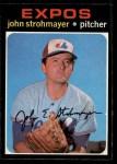 1971 O-Pee-Chee #232  John Strohmayer  Front Thumbnail
