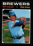 1971 O-Pee-Chee #516  Ted Kubiak  Front Thumbnail