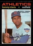 1971 O-Pee-Chee #151  Tommy Davis  Front Thumbnail