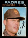 1971 O-Pee-Chee #46  Dave Campbell  Front Thumbnail