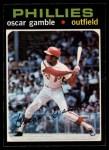 1971 O-Pee-Chee #23  Oscar Gamble  Front Thumbnail