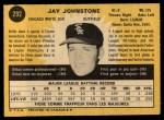 1971 O-Pee-Chee #292  Jay Johnstone  Back Thumbnail