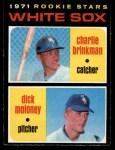 1971 O-Pee-Chee #13   -  Charlie Brinkman / Dick Moloney White Sox Rookies   Front Thumbnail