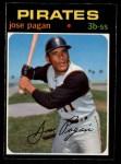 1971 O-Pee-Chee #282  Jose Pagan  Front Thumbnail
