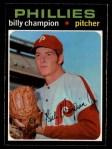 1971 O-Pee-Chee #323  Billy Champion  Front Thumbnail