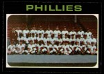 1971 O-Pee-Chee #268   Phillies Team Front Thumbnail