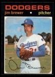 1971 O-Pee-Chee #549  Jim Brewer  Front Thumbnail