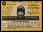 1971 O-Pee-Chee #256  Tony Gonzalez  Back Thumbnail
