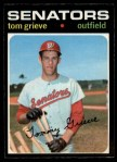 1971 O-Pee-Chee #167  Tom Grieve  Front Thumbnail
