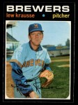 1971 O-Pee-Chee #372  Lew Krausse  Front Thumbnail