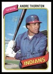 1980 Topps #534  Andre Thornton  Front Thumbnail