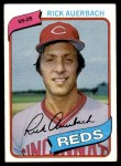 1980 Topps #354  Rick Auerbach  Front Thumbnail