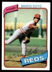 1980 Topps #622  Mario Soto  Front Thumbnail
