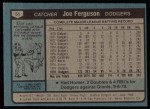 1980 Topps #51  Joe Ferguson    Back Thumbnail