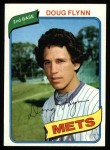 1980 Topps #58  Doug Flynn  Front Thumbnail