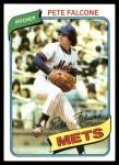 1980 Topps #401  Pete Falcone  Front Thumbnail