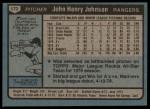 1980 Topps #173  John Henry Johnson  Back Thumbnail