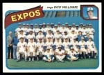 1980 Topps #479   -   Dick Williams Expos Team and Checklist  Front Thumbnail