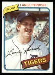 1980 Topps #196  Lance Parrish  Front Thumbnail