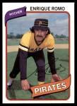 1980 Topps #332  Enrique Romo  Front Thumbnail