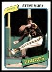 1980 Topps #491  Steve Mura    Front Thumbnail