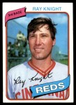 1980 Topps #174  Ray Knight  Front Thumbnail